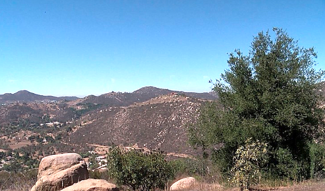 Newland Communities plan for 2135 homes in Merriam Mountains put on hold by Sierra Club suit. - Image by Alison St. John/KPBS