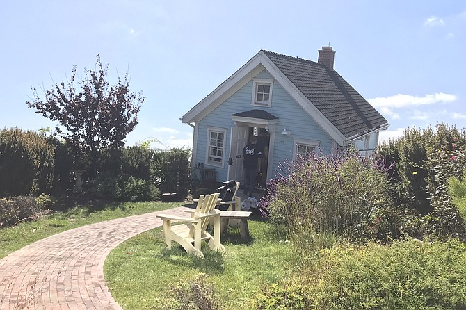 Visit the crooked house on Tuesdays and Thursdays