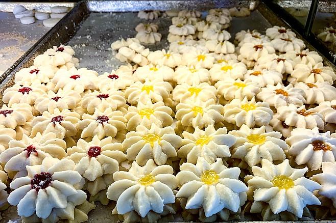 Scandinavian pastries fuel a coffee break ritual.