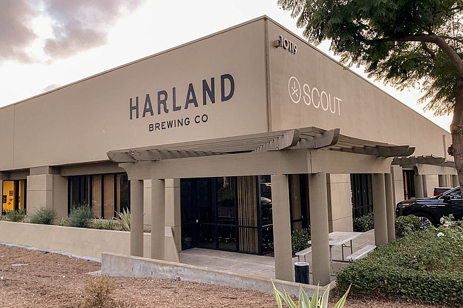 The Scripps Ranch headquarters of sister companies Harland Brewing and Scout Distribution