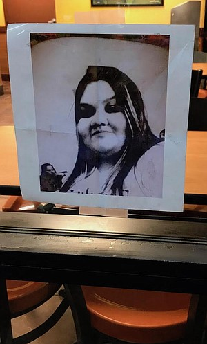 """Maribel Ibanez. """"They didn't tell me she was shot behind the counter."""""""