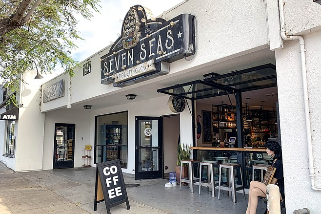 The Seven Seas coffee shop in South Park