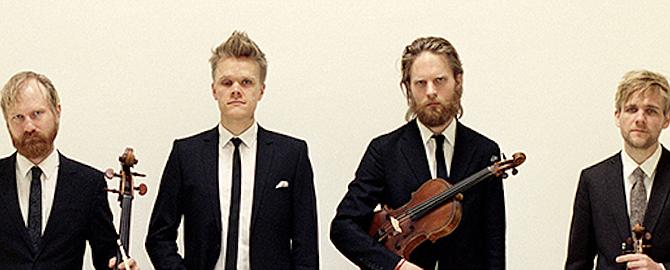 From Left: Fredrik Schøyen Sjölin,  Frederik Øland, Asbjørn Nørgaard, Rune Tonsgaard Sørensen