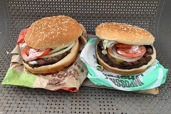 Burger Kings in San Diego now serve the Whopper with Impossible non-beef patties.
