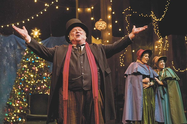 Charles Dickens' classic 1843 redemption tale of the miserly Ebenezer Scrooge returns to the Cygnet for its sixth year.