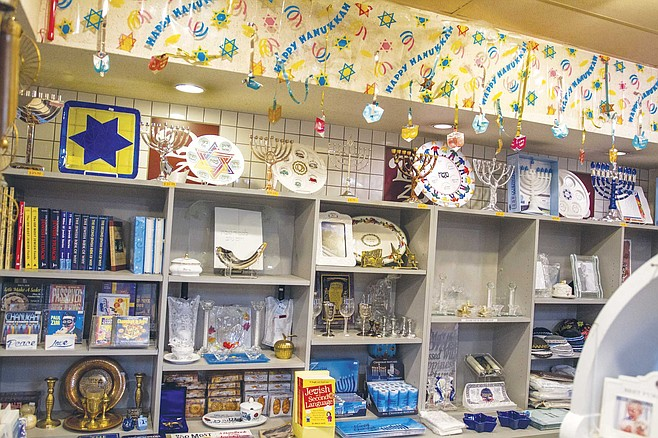 Check out the gift shop at D.Z. Akins for one of San Diego's best-stocked Judaica stores: dreidels, menorahs, candles, and decor.