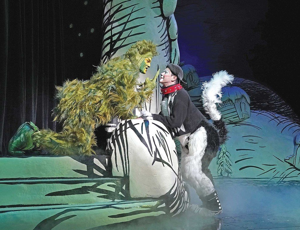 Dr. Seuss's How The Grinch Stole Christmas has become a certified tradition at Balboa Park's Old Globe Theater.