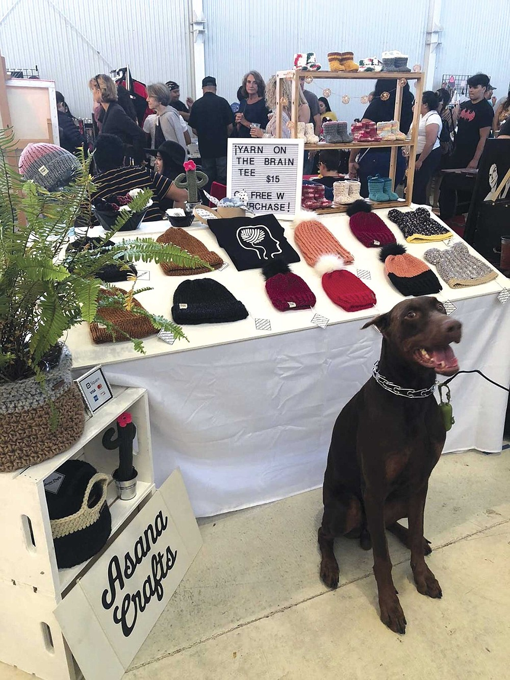 """La Pulga Holiday Market will be a place to locally shop specifically for holiday gifts. They are promising """"shoes, toys, art, plants, bags, hats, candles, body care, and so much more."""""""