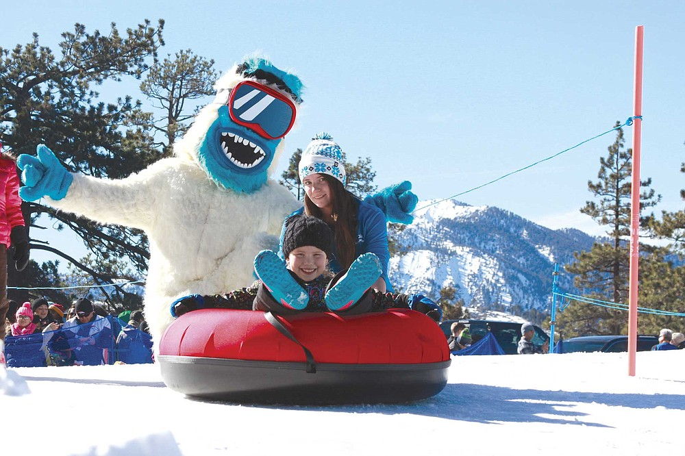 Mountain High Resort offers Yeti's Snow Parks at its east and north resorts. Each features 10 lanes for tubing.