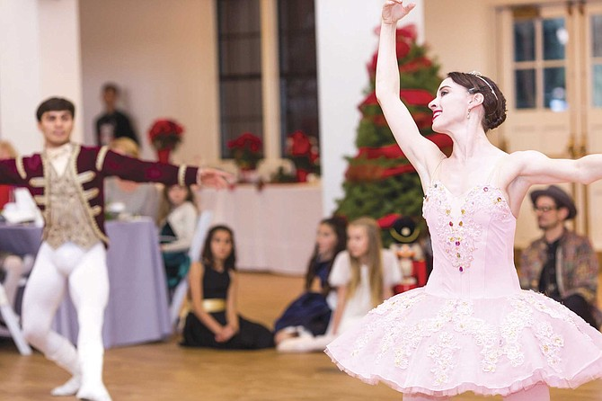 Join characters from The Nutcracker for refreshments at the hot chocolate and cookie bar, then enjoy the narrated program with fully immersive vignette performances.