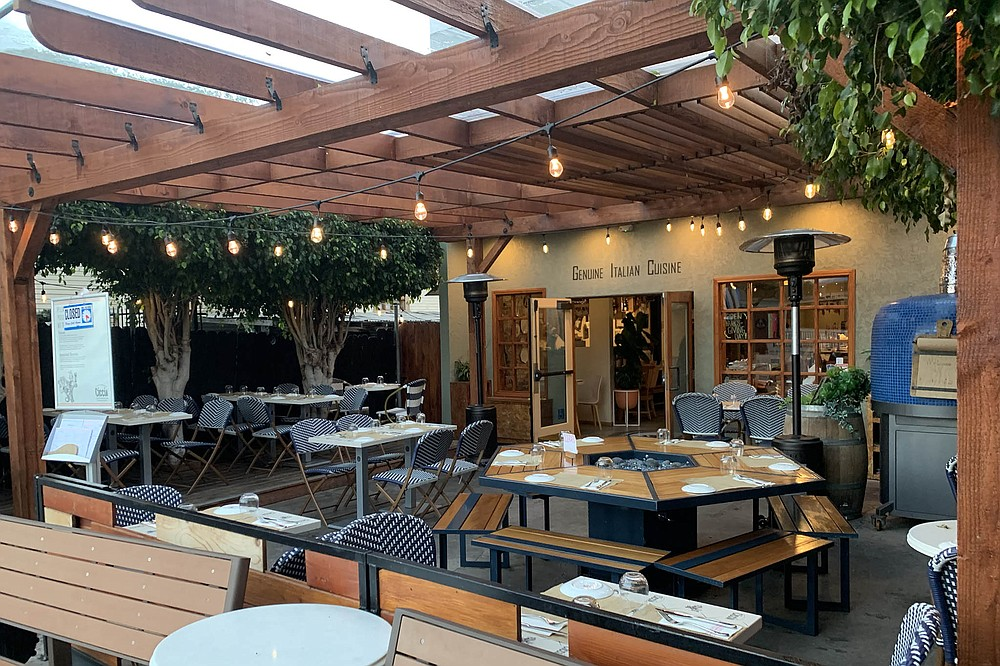 A comfortable, casual patio in Barrio Logan