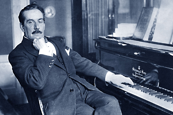 Giacomo Puccini,  the famous one