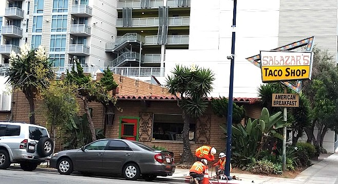Salazar's Fine Mexican Food had to close in July for lack of business.