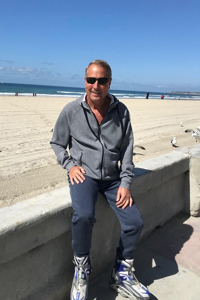 Mission Beach resident and retired airline pilot Alan Bark believes airlines will use increasingly larger planes as the airport nears full capacity.