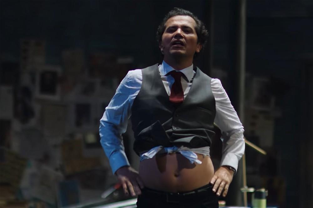 Leguizamo as Moctezuma II in his Netflix special.
