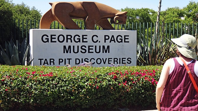 Los Angeles trip photo: Page Museum on Wilshire Blvd. Worth seeing.