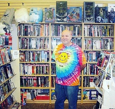 Robert Scott, courtesy Little Fish Comic Book Studio