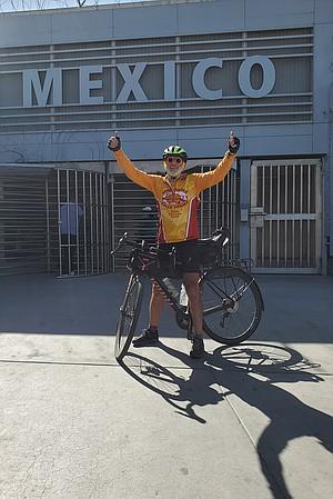Dan Laster at Mexico border