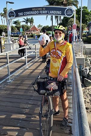 Dan Lester at Coronado Ferry Landing