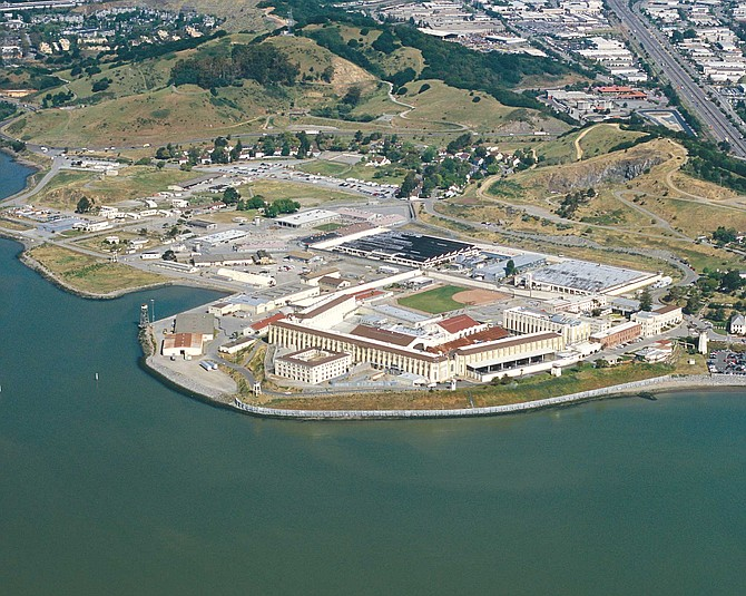 "Prisoners sentenced to death reside in the ""Condemned Unit"" at San Quentin State Prison."