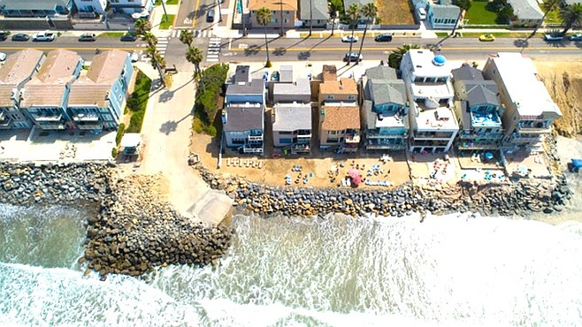"""""""These homeowners had carte blanche"""" (Drone photo taken July 20)"""