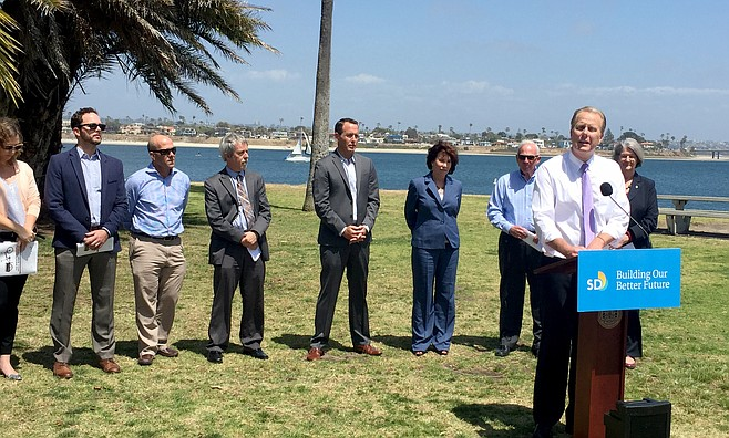 Kevin Faulconer's climate initiative launch