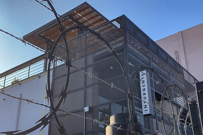Insurgente's Zona Rio brewery and rooftop beer garden, closed two months by Tijuana's city government