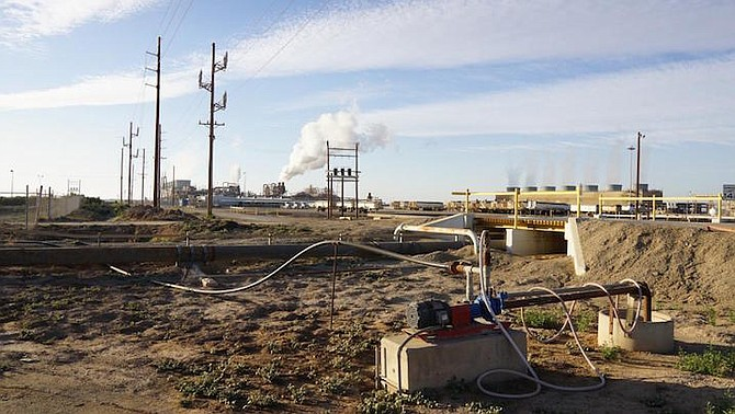 The geothermal plants on the eastern side of the Salton Sea use Colorado River water.