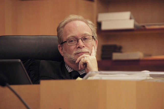 Hon. judge Brad A. Weinreb. Photo by Eva Knott.