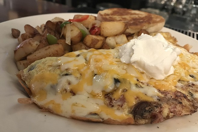 Brian's 24 omelette