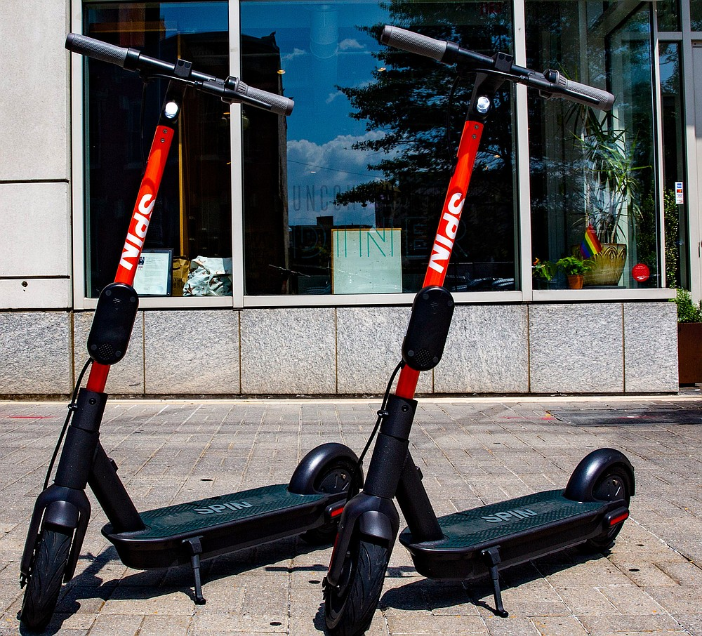 Spin fired all of its scooter chargers in San Diego.