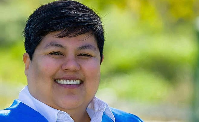 Labor union-endorsed San Diego city councilwoman Georgette Gomez is the main opponent of Jacobs for the primary.