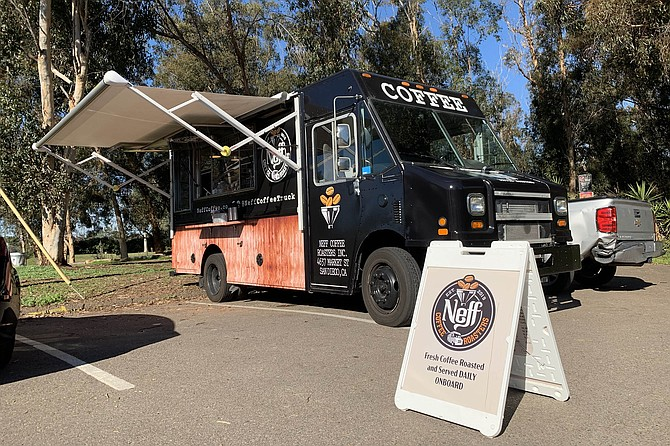 Neff Coffee Roasters doing business at Grape Street Dog Park