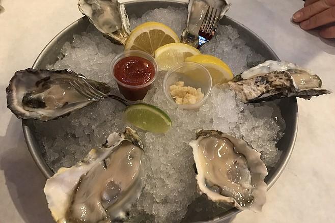 Oysters- Six shucks for six bucks
