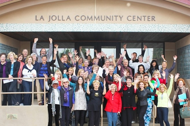 New Year's resolutions at La Jolla Community Center