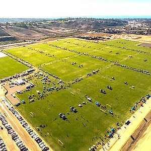 Soccer fields at So Cal sports complex