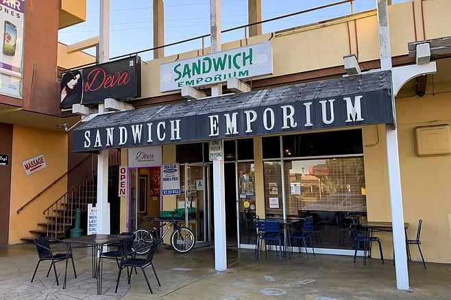 A sandwich shop in Clairemont