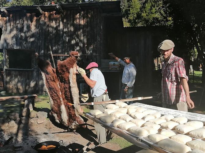Getting the rolls ready