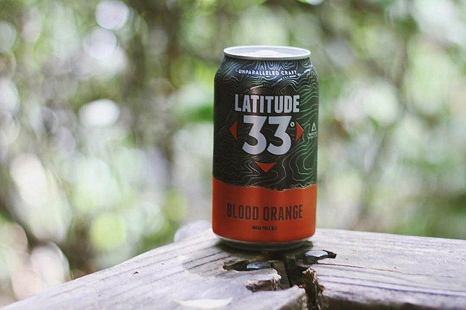 Blood Orange IPA now available in multiple states on the 33rd parallel.