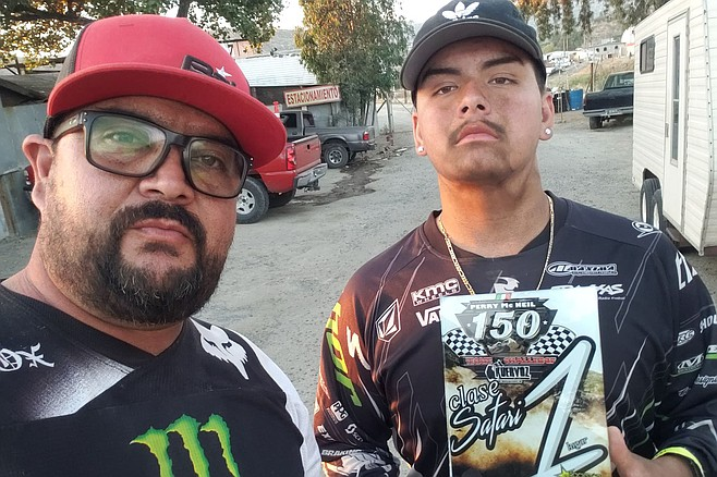 Felipe Mojica and son Gabriel could tell you that, especially in Baja California, off-road racing is a dirty business.