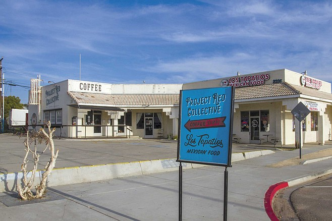 Five families formed the Project Reo Collective. The gang's hub is a coffee shop on Reo Drive.