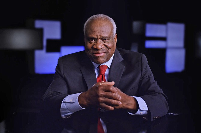 Created Equal: Clarence Thomas in His Own Words as seen from from this angle.