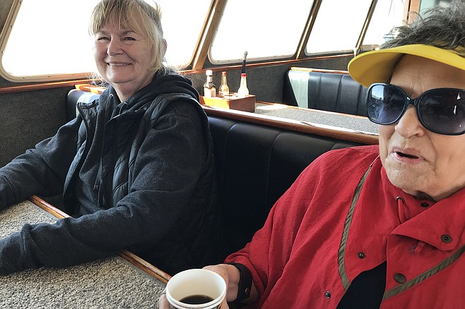 Whales escape her - On six whale watching expeditions Kathy Cormier has spotted zero whales.