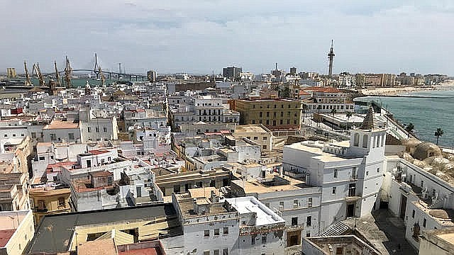 View from the Catedral.