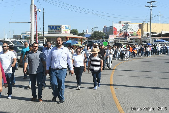 Due to non-payment, Rosarito teachers walk off the job back in September.