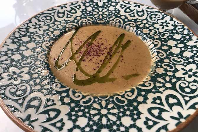 Cafe 21's lentil soup