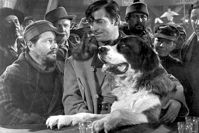 Call of the Wild: Jack Oakie, Clark Gable, and Buck star in Hollywood's 1st talking version of Jack London's classic.