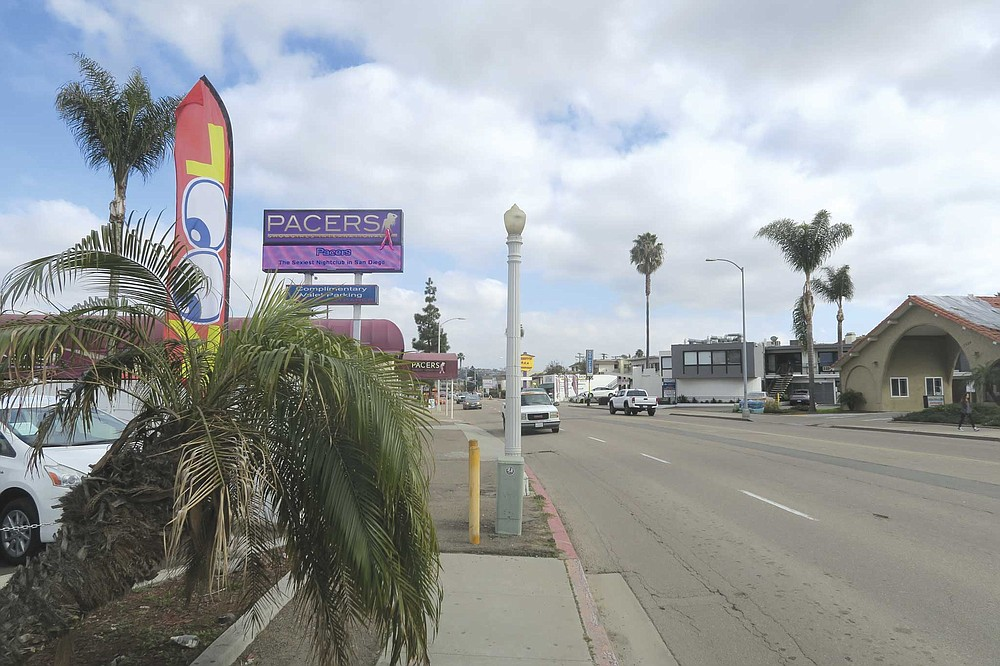 Midway Drive, between Sports Arena Boulevard and Rosecrans Street