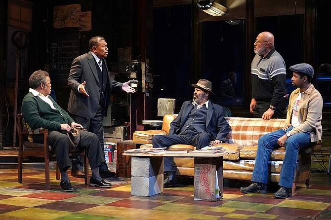 August Wilson's Jitney: The voices carry the words.