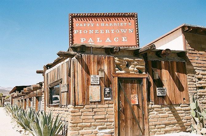 Pappy & Harriet's in Pioneertown, CA.